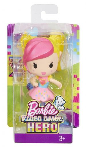 Barbie Video Game Hero Junior Doll - Barbie Pink & Yellow Hair